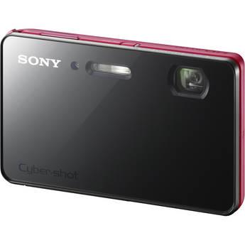 Sony Cyber-shot DSC-TX200V Digital Camera (Red)