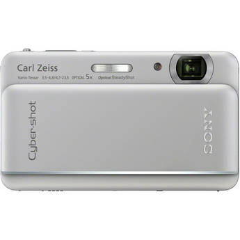 Sony Cyber-shot DSC-TX66 Digital Camera (Silver)