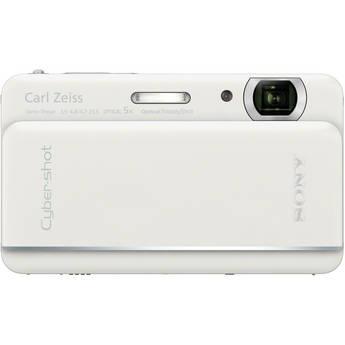Sony Cyber-shot DSC-TX66 Digital Camera (White)