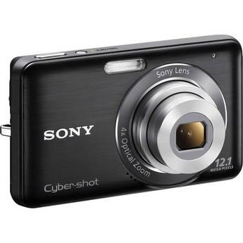 Sony Cyber-shot DSC-W310 Digital Camera (Black)