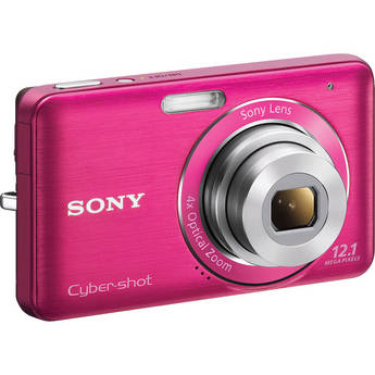 Sony Cyber-shot DSC-W310 Digital Camera (Pink)