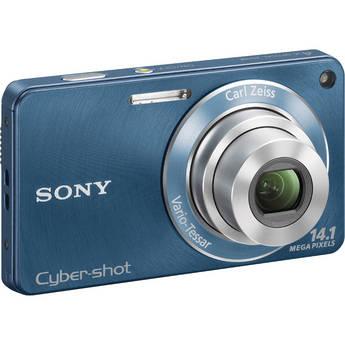 Sony Cyber-shot DSC-W350 Digital Camera (Blue)