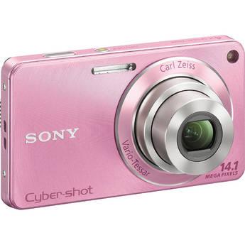 Sony Cyber-shot DSC-W350 Digital Camera (Pink)