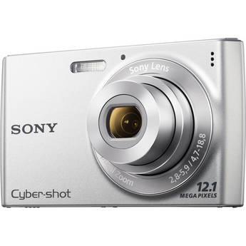 Sony Cyber-shot DSC-W510 Digital Camera (Silver)
