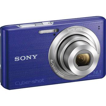 Sony Cyber-Shot DSC-W610 Digital Camera (Blue)