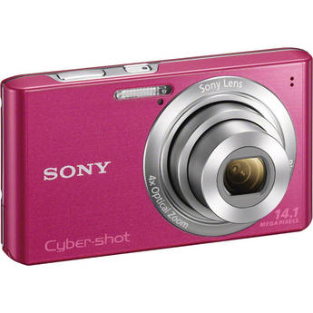 Sony Cyber-Shot DSC-W610 Digital Camera (Pink)