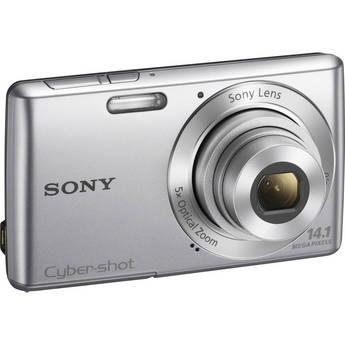 Sony Cyber-Shot DSC-W620 Digital Camera (Silver)