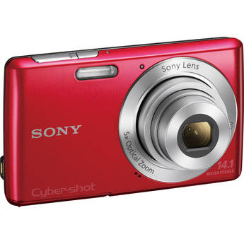 Sony Cyber-Shot DSC-W620 Digital Camera (Red)