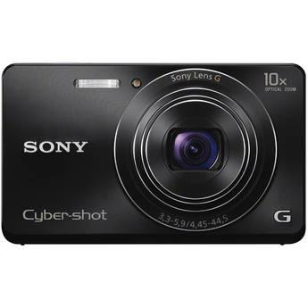 Sony Cyber-shot DSC-W690 Digital Camera (Black)