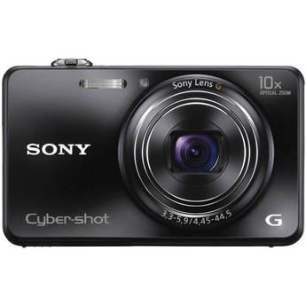 Sony Cyber-shot DSC-WX150 Digital Camera (Black)