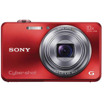 Sony Cyber-shot DSC-WX150 Digital Camera (Red)