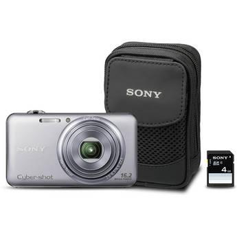 Sony Cyber-shot DSC-WX70 Digital Camera Bundle (Silver)