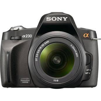 Sony Alpha A230 Digital SLR with 18-55mm Lens