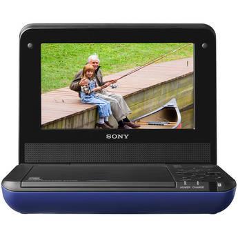 "Sony DVP-FX750L 7"" Portable DVD Player (Blue)"