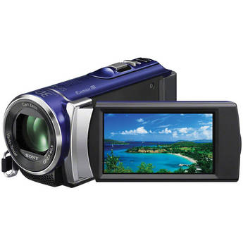 Sony PAL HDR-CX200 Handycam Video Camera (Blue)