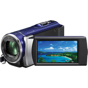 Sony PAL HDR-CX210 Handycam Video Camera (Blue)