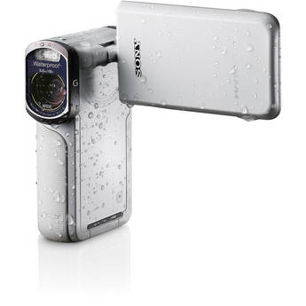 Sony 16GB HDR-GW77V Waterproof Full HD Camcorder (White)