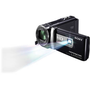 Sony HDR-PJ200E HD Flash Memory PAL Camcorder with Projector (Black)