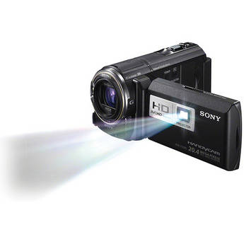 Sony HDR-PJ580VE HD Flash Memory PAL Camcorder with Projector (Black)