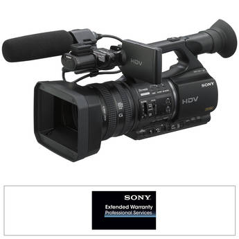 Sony HVR-Z5UPAK Professional HDV Camcorder with Extended Warranty