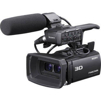 Sony HXR-NX3D1 NXCAM 3D Compact Camcorder