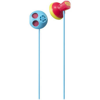 Sony MDR-PQ5 PIIQ Bass Exhale Stereo Earbuds (Multicolor)