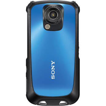 Sony MHS-TS22 Bloggie Sport Camcorder (Blue)