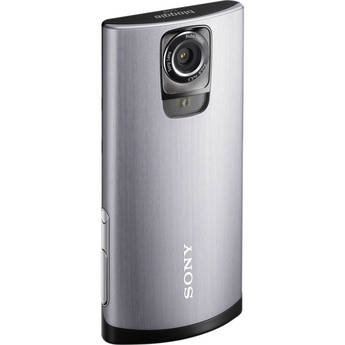 Sony MHS-TS55 Bloggie Live Camcorder (Silver)