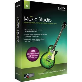 Sony ACID Music Studio 8 - Complete Home Recording Software