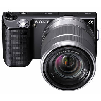 Sony Alpha NEX-5 Interchangeable Lens Digital Camera w/18-55mm Lens (Black)