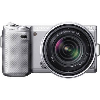 Sony Alpha NEX-5N Digital Camera with 18-55mm Lens (Silver)