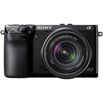 Sony Alpha NEX-7 Digital Camera with 18-55mm Lens (Black)