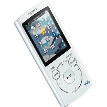 Sony 8GB NWZ-S764BT Bluetooth-Enabled Walkman Video MP3 Player (White)