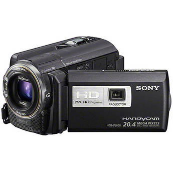 Sony 220GB HDR-PJ600E Hard Disk Drive HD Camcorder with Projector (PAL)