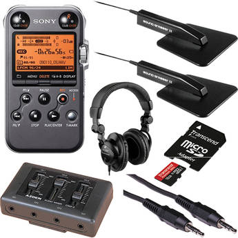 Sony PCM-M10 Portable Conference Room Recording Kit