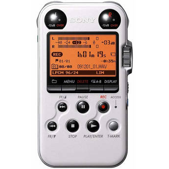 Sony PCM-M10 Portable Audio Recorder (White)