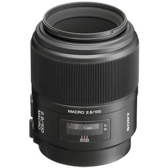 Sony 100mm f/2.8 Alpha A-Mount Macro Lens