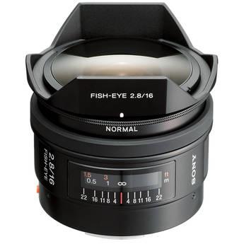 Sony 16mm f/2.8 Alpha A-Mount Fisheye Lens