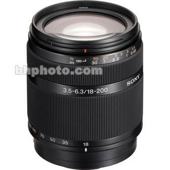Sony 18-200mm f/3.5-6.3 DT Telephoto Zoom Lens