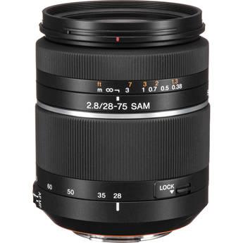 Sony 28-75mm f/2.8 Alpha A-Mount Standard Zoom Lens