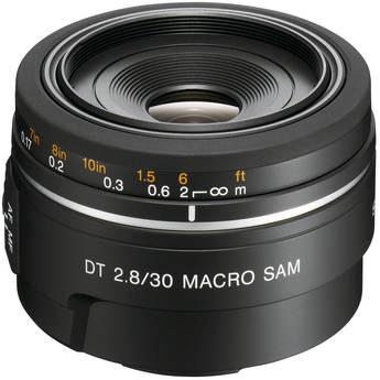 Sony 30mm f/2.8 DT Alpha A-Mount Macro Prime Lens