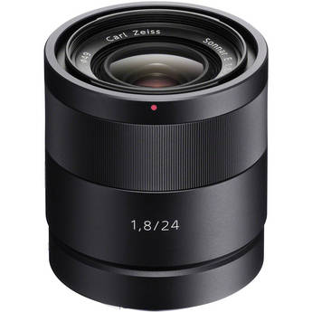 Sony SEL24F18Z 24mm f/1.8 E-Mount Carl Zeiss Sonnar Lens