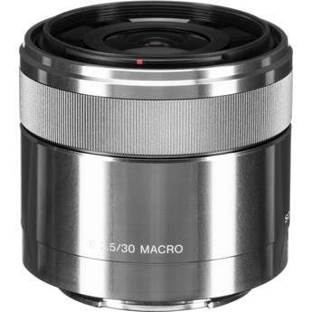 Sony 30mm f/3.5 Macro Lens for Alpha NEX Cameras