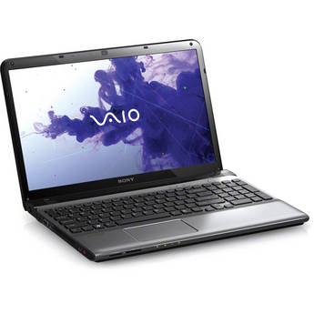 "Sony VAIO E1511 SVE15112FX/S 15.5"" Notebook Computer (Silver)"