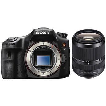 Sony Alpha SLT-A57 DSLR Digital Camera with 18-135mm f/3.5-5.6 Lens Kit