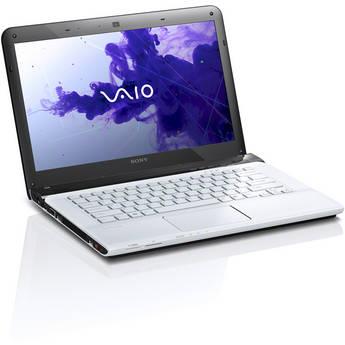 "Sony VAIO E Series 14 SVE14122CXW 14"" Notebook Computer (Seafoam White)"