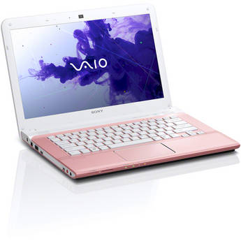 "Sony VAIO E Series 14 SVE14122CXP 14"" Notebook Computer (Seashell Pink)"