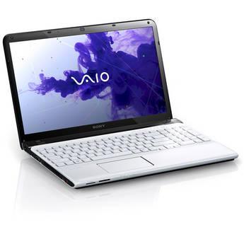 "Sony VAIO E Series 15 SVE15125CXW 15.5"" Notebook Computer (Seafoam White)"