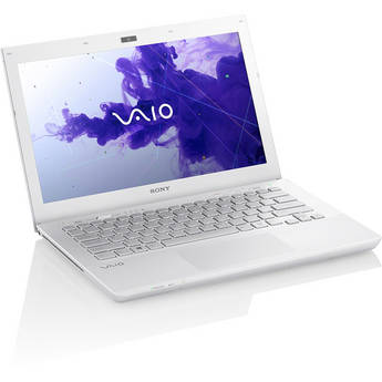 Sony VAIO S Series 13 SVS13122CXW Notebook Computer (White)