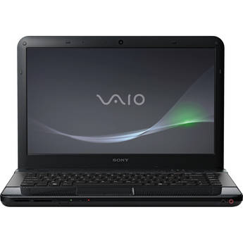 "Sony VAIO EA VPCEA33FX/B 14"" Notebook Computer (Lava Black)"